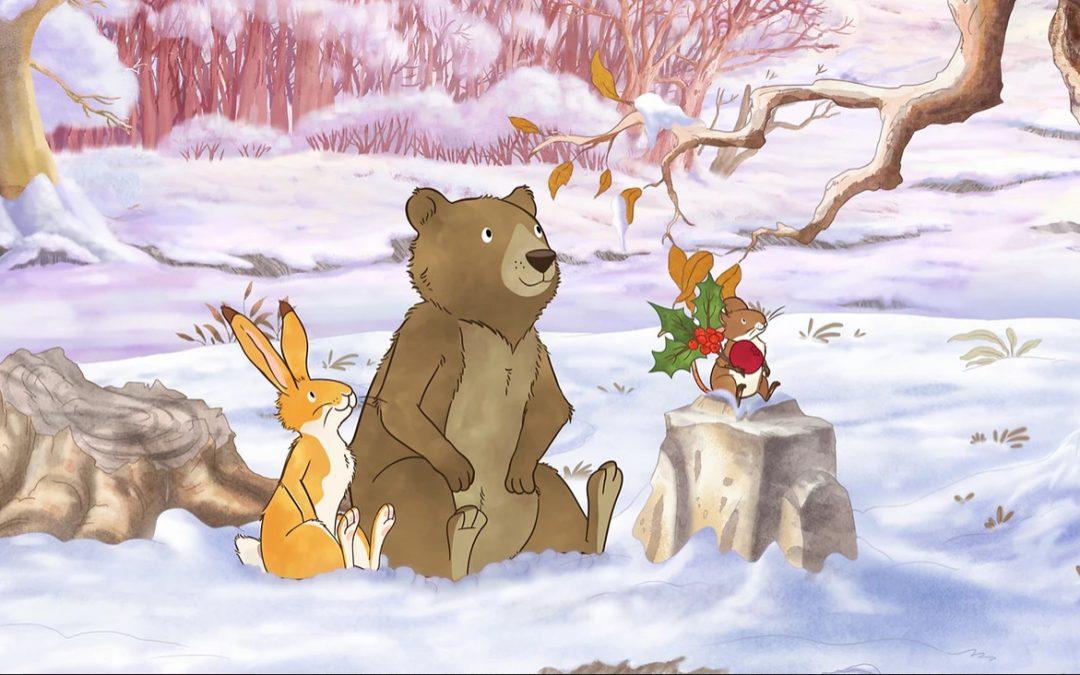 Le Noël de petit lièvre brun